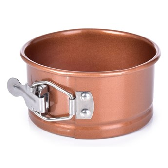 Rozkładana forma tortowa ø 11 cm BIOPAN® GOLD, okrągła wysokość 5,5 cm