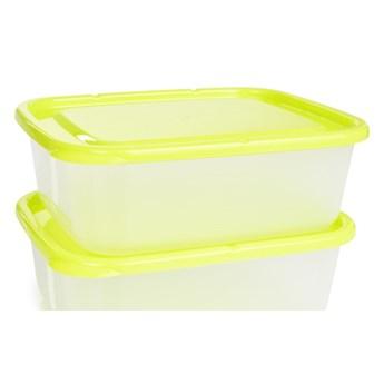 2 szt. pudełko na żywność GREENBOX 1300 ml, z odpornego plastiku