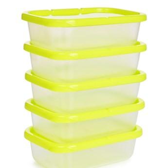 5 szt. pudełko na żywność GREENBOX 300 ml, z odpornego plastiku