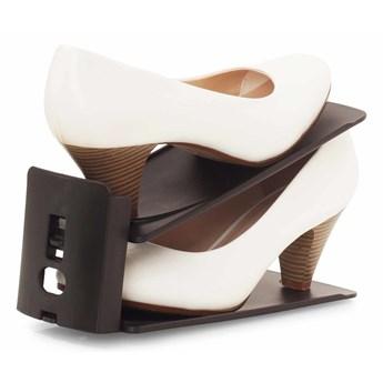 FLEXI BUTOSTOS 3-POZYCYJNY stojak do przechowywania butów czarny