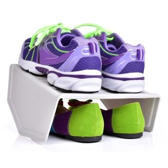 DWUPIĘTROWY BUTOSTOS, stojak na buty z wysokiej jakości odpornego plastiku
