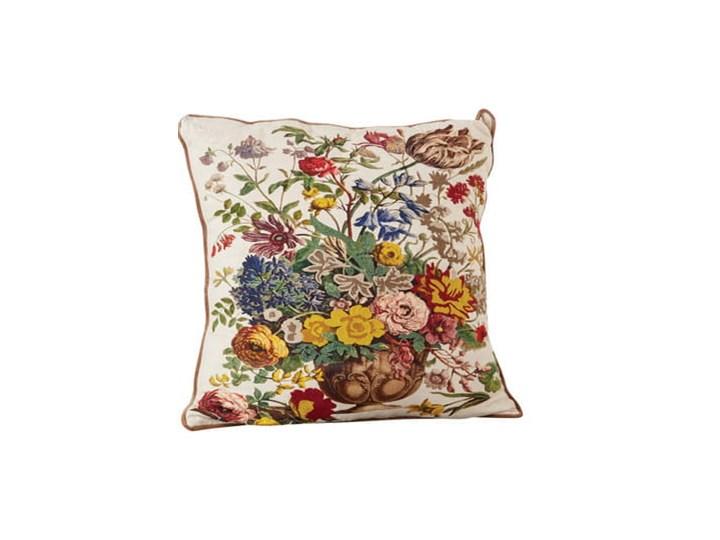 PODUSZKA CHATEAU  BLOOMINGVILLE 65x65 cm Poduszka dekoracyjna Kwadratowe Poliester Bawełna Kategoria Poduszki i poszewki dekoracyjne
