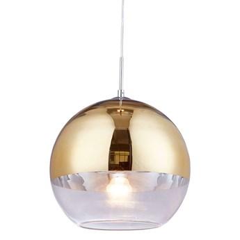 NOWOCZESNA LAMPA WISZĄCA ZŁOTA VERONI D30