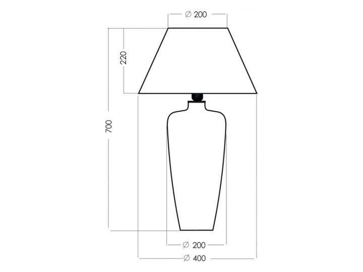 Lampa stołowa BILBAO L019031203 4concepts L019031203 Lampa dekoracyjna Kategoria Lampy stołowe Lampa z kloszem Wysokość 67 cm Wysokość 70 cm Styl Nowoczesny
