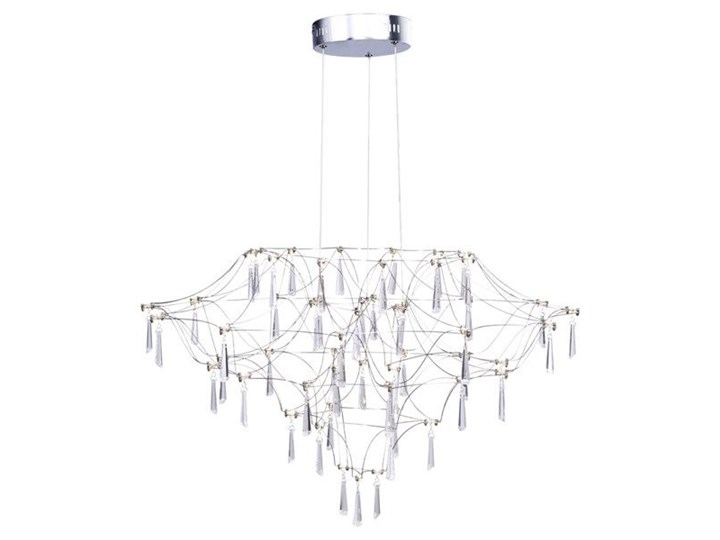 Lampa wisząca CRYSTAL NET LED 7783-54P Step Into Design 7783-54P Lampa LED Metal Kryształ Szkło Lampa z kryształkami Kategoria Lampy wiszące