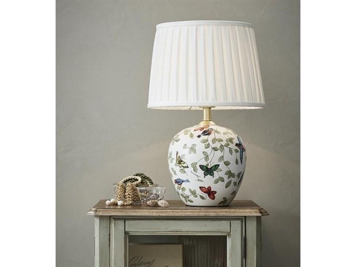 Lampa stołowa MANSION 1L Duża Wzór/Biały 107040 Markslöjd 107040 RABATY DO -25%   SPRAWDŹ TEL.509099536