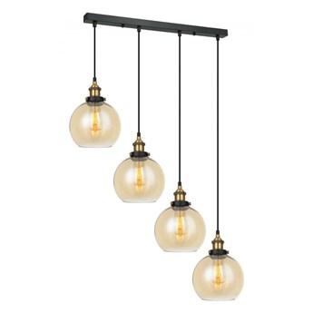 Lampa wisząca Cardena MDM-4330/4 GD+AMB ITALUX MDM-4330/4 GD+AMB