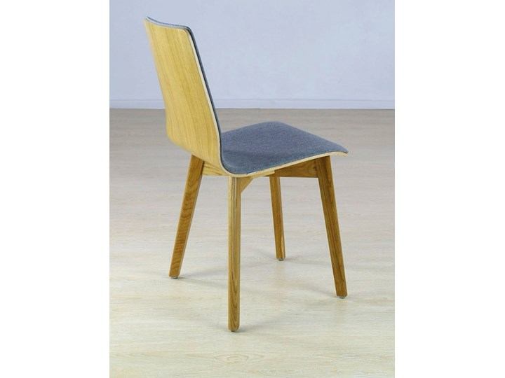 LUKA SOFT W krzesło dębowe, tkanina Lt.grey Głębokość 40 cm Szerokość 40 cm Płyta MDF Drewno Tapicerowane Wysokość 87 cm Głębokość 41 cm Kolor Szary