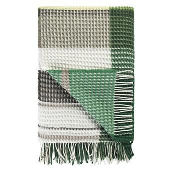 Koc wełniany Designers Guild Florentin Emerald