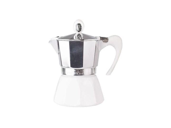 Kawiarka GAT Diva 6 TZ Biały Tworzywo sztuczne Kolor Czarny Aluminium Kolor Szary