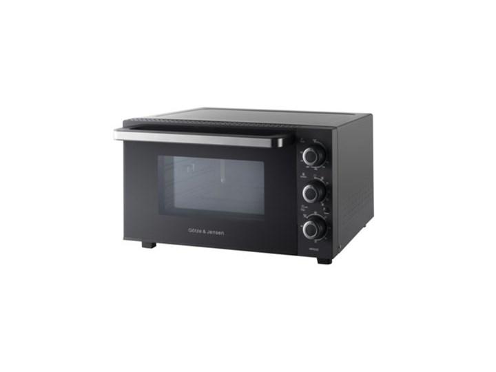 Piekarnik mini GÖTZE & JENSEN MP630 Czarny 1500W pojemność 30L termoobieg rożen