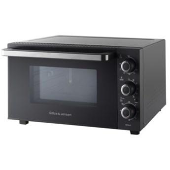 Piekarnik mini GÖTZE & JENSEN MP642 Czarny 1500W pojemność 42L termoobieg rożen