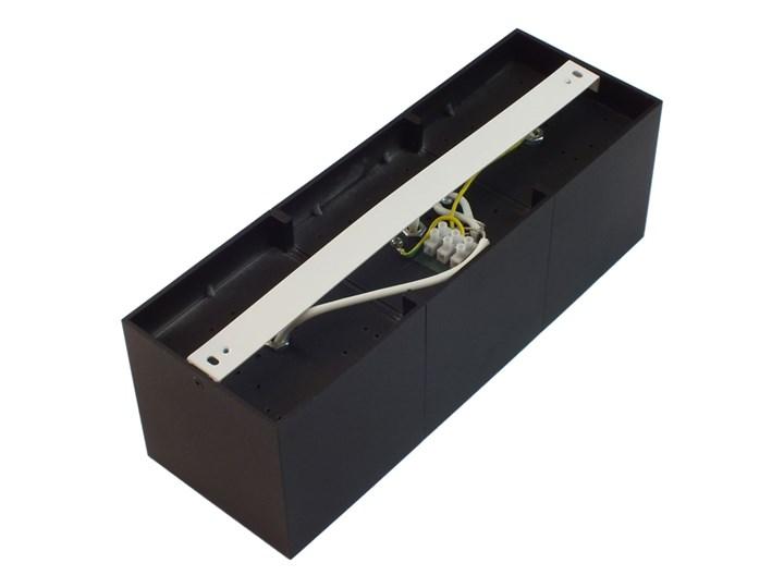 Potrójna ruchoma sufitowa oprawa natynkowa w kolorze czarnym AR ES111 Oprawa ruchoma Prostokątne Oprawa halogenowa Oprawa stropowa Kategoria Oprawy oświetleniowe