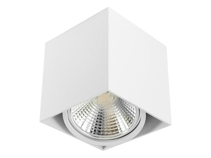 Wewnętrzna oprawa natynkowa sufitowa kwadrat AR111 GU10 biała Kwadratowe Oprawa stropowa Oprawa halogenowa Kolor Biały Kategoria Oprawy oświetleniowe
