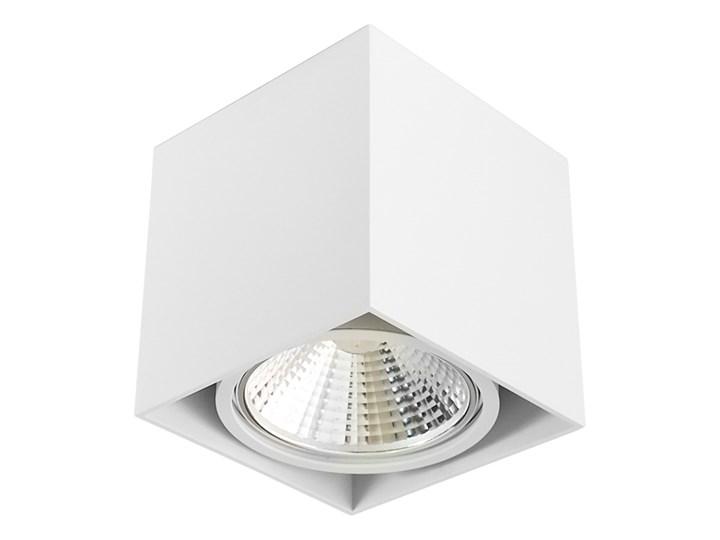 Wewnętrzna oprawa natynkowa sufitowa kwadrat AR111 GU10 biała Oprawa halogenowa Kwadratowe Oprawa stropowa Kolor Biały Kategoria Oprawy oświetleniowe