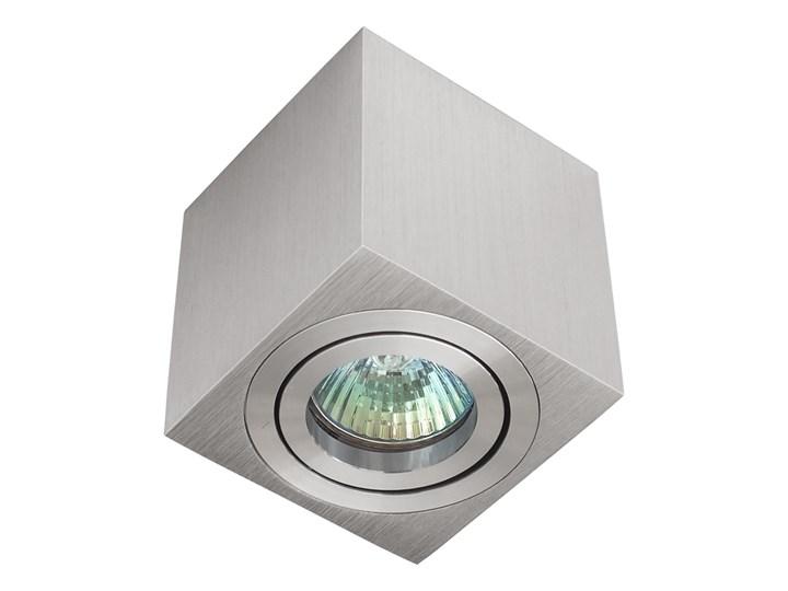 Oprawa natynkowa duce kostka aluminium szczotkowane HDL103AL Oprawa stropowa Oprawa halogenowa Kwadratowe Kategoria Oprawy oświetleniowe Kolor Szary
