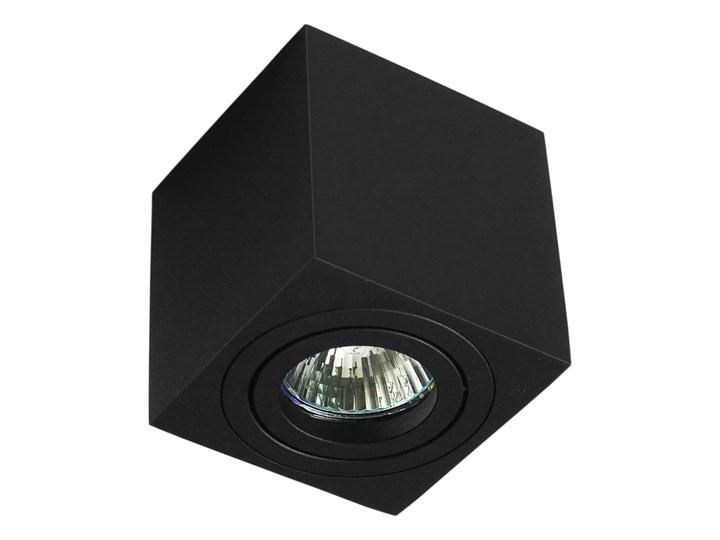 Oprawa natynkowa duce kostka aluminiowa czarny mat czarna HDL103BK Kwadratowe Oprawa stropowa Oprawa halogenowa Kategoria Oprawy oświetleniowe