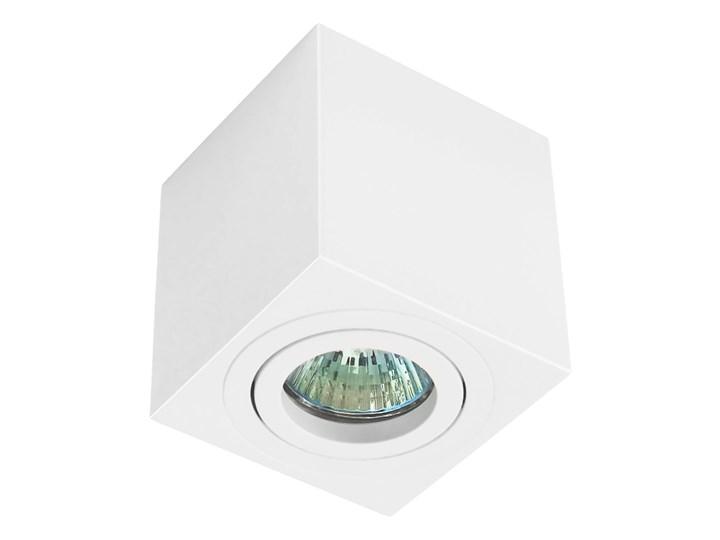 Oprawa natynkowa duce kostka aluminiowa biały mat biała HDL103WH Kwadratowe Oprawa stropowa Oprawa halogenowa Kategoria Oprawy oświetleniowe