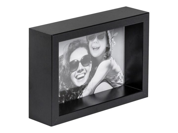 Ramka na zdjęcia Box 10 x 15 cm czarna Kategoria Ramy i ramki na zdjęcia Drewno Pomieszczenie Sypialnia
