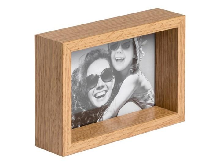 Ramka na zdjęcia Box 10 x 15 cm efekt dębu Drewno Rozmiar zdjęcia 10x15 cm