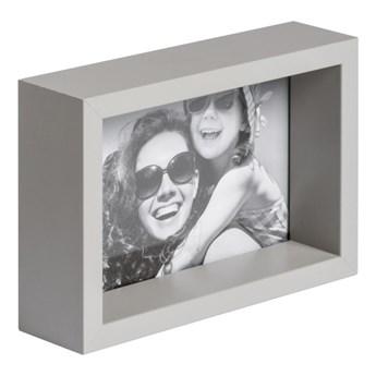 Ramka na zdjęcia Box 10 x 15 cm jasnoszara