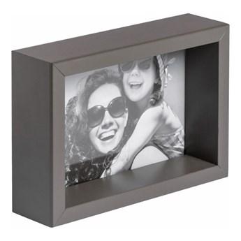 Ramka na zdjęcia Box 10 x 15 cm szara