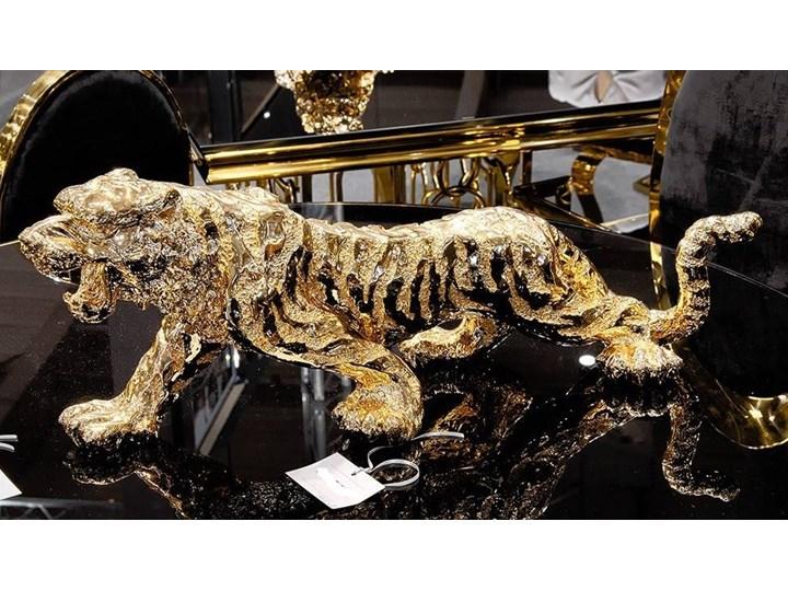 Złota figurka Tygrys 77x22x28cm