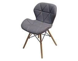 Krzesło ELIOT FABRIC jasny szary melanż - materiał