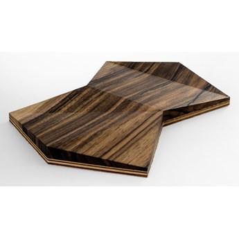 Panel 3D drewniany - płytka Cosmo (orzech)