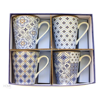 Kubki porcelanowe Coffeemania Blue