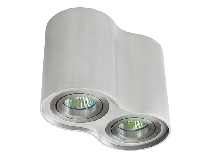 Oprawa podwójna natynkowa okrągła tuba MR16 GU10 aluminium wewnętrzna Okrągłe Oprawa halogenowa Oprawa stropowa Oprawa led Kategoria Oprawy oświetleniowe