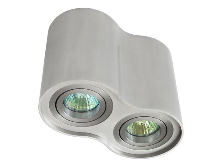 Oprawa podwójna natynkowa okrągła tuba MR16 GU10 aluminium wewnętrzna Oprawa stropowa Okrągłe Oprawa halogenowa Oprawa led Kategoria Oprawy oświetleniowe