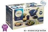 Serwis obiadowy LYS SAPHIR 44 el. DURALEX