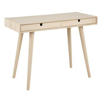 Drewniane biurko z szufladami Bari
