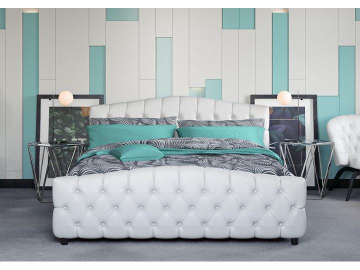 ŁÓŻKO TAPICEROWANE DO SYPIALNI 140X200 SF892B BIAŁE Kolor Biały Kategoria Łóżka do sypialni