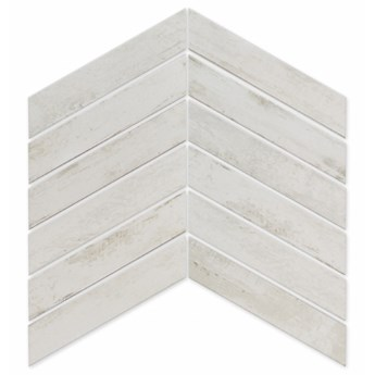 Arrow Alpine Blanco 8x40 płytka drewopodobna jodełka