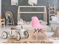 Krzesło Paris Kids DSW - różowy Metal Wysokość 27 cm Wysokość 56 cm Szerokość 31 cm Tworzywo sztuczne Głębokość 27 cm Wysokość 53 cm Drewno Styl Skandynawski Styl Nowoczesny