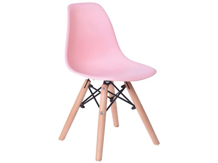 Krzesło Paris Kids DSW - różowy Głębokość 27 cm Wysokość 56 cm Tworzywo sztuczne Metal Styl Skandynawski Wysokość 27 cm Wysokość 53 cm Szerokość 31 cm Drewno Styl Nowoczesny