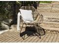 Meble ogrodowe BORDEAUX II Stoły z krzesłami Drewno Styl Nowoczesny
