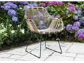 Meble ogrodowe BORDEAUX II Stoły z krzesłami Zawartość zestawu Fotele Drewno Styl Vintage