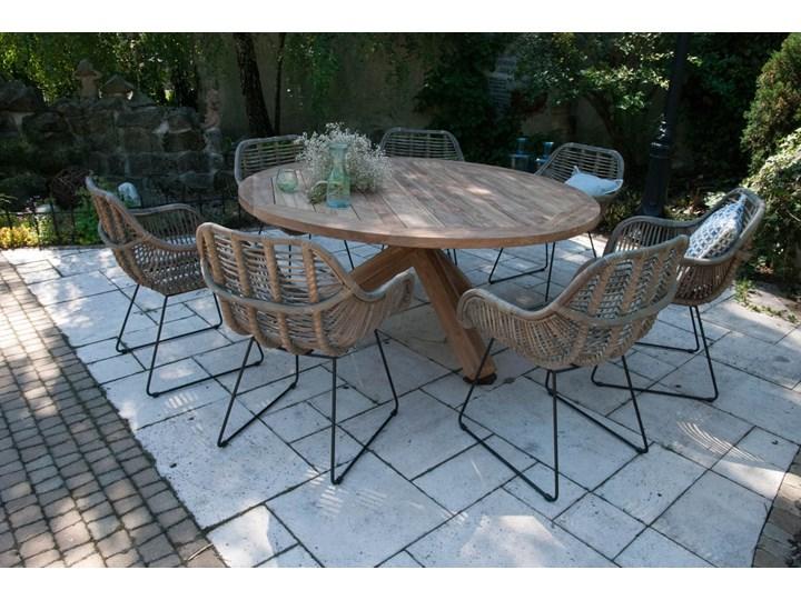 Meble ogrodowe BORDEAUX II Drewno Stoły z krzesłami Zawartość zestawu Fotele