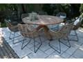 Meble ogrodowe BORDEAUX II Drewno Stoły z krzesłami Kategoria Zestawy mebli ogrodowych
