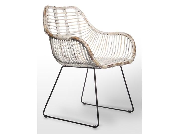 Meble ogrodowe LYON III Drewno Styl Vintage Stoły z krzesłami Kolor Brązowy