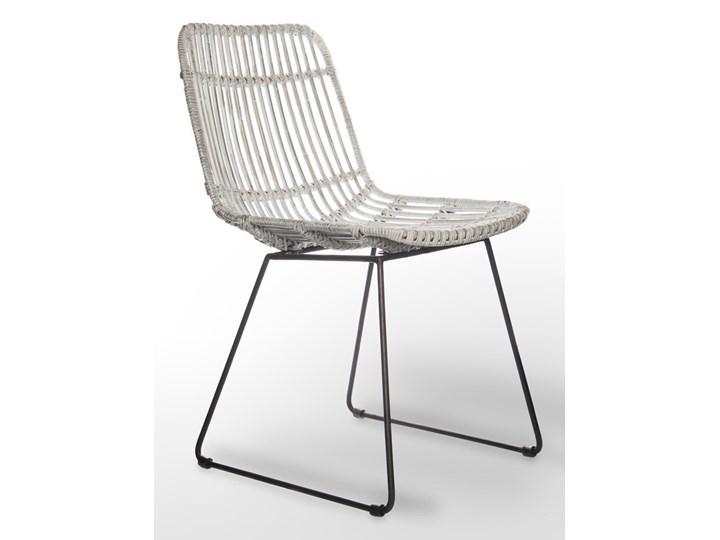 Meble ogrodowe LYON XI Drewno Styl Rustykalny Technorattan Aluminium Rattan Stoły z krzesłami Zawartość zestawu Stół