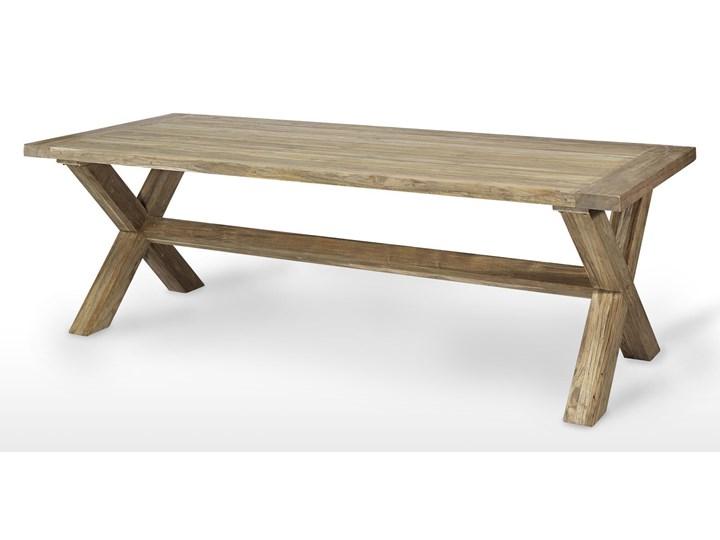 Meble ogrodowe LYON XI Technorattan Rattan Aluminium Drewno Stoły z krzesłami Styl Rustykalny