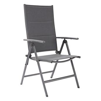 Krzesło ogrodowe ORION aluminiowe z regulowanym oparciem NATERIAL