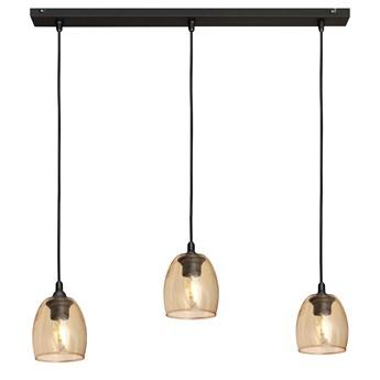 Lampa BRILLANT na listwie W-L 8014/3 BK+GO