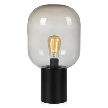 Lampa stołowa BROOKLYN 1L 44 cm Black/Smoke 107481 Markslöjd 107481 RABATY DO -25%   SPRAWDŹ TEL.509099536