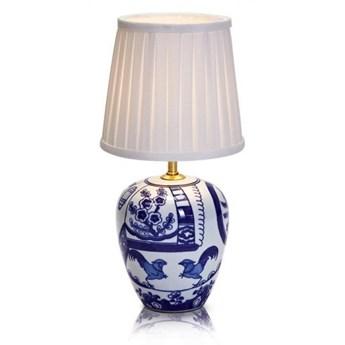 Lampa stołowa GÖTEBORG 1L 33cm Niebieski/Biały 104999 Markslöjd 104999