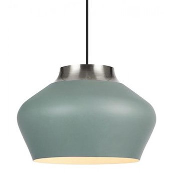 Lampa wisząca KOM 31cm 1L Szary/Stal 107380 Markslöjd 107380